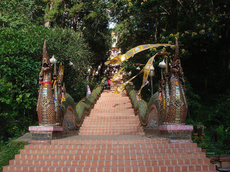 The steps leading to Doi Suthep