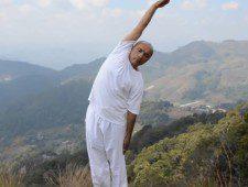 How to Do the Ardha Kati Chakrasana (Lateral Arc Position)